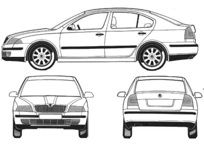 skoda octavia colouring pages pictures to pin on pinterest